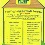 Healthy Neighborhoods Program  607-274-6688