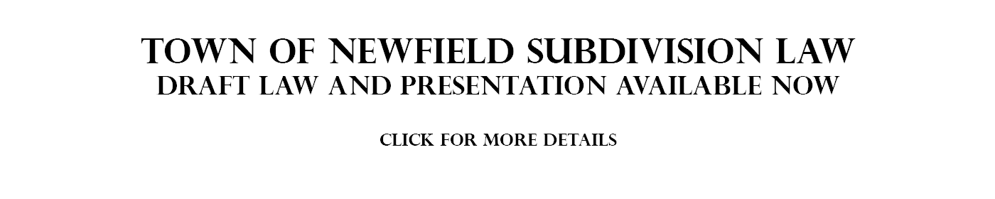 Subdivision Review Law